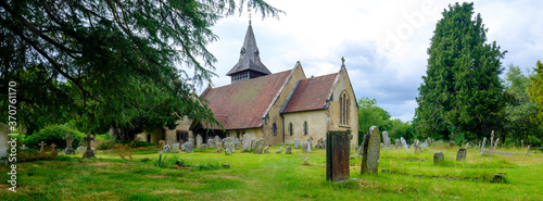 Fotografie, Obraz All Saints' Church in Steep near Petersfield in the South Downs National Park, H