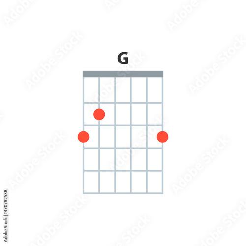 Photo G guitar chord icon