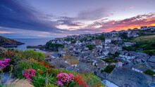 Sunrise Over Port Isaac, Cornwall