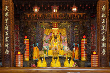 Oriental Temple With Ornamenta...