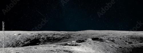 Obraz na plátně Moon surface