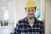 Portrait Of A Smilling Worker ...
