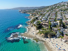 Aerial View Of Laguna Beach Co...