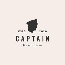 Captain Hipster Vintage Logo V...