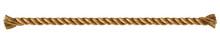 Rope Frame. Vector Illustration. White Background