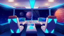 Spaceship Cockpit Interior Spa...