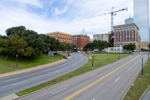 North Grassy Knoll And Elm And...