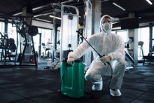 Gym Disinfection And Healthcar...