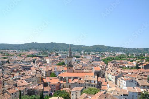 la ville de Draguignan Fototapeta