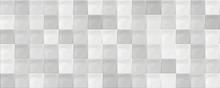 Classic Ceramic Grey Mosaic Wall Tiles Background. Grey Mosaic Tile Texture.