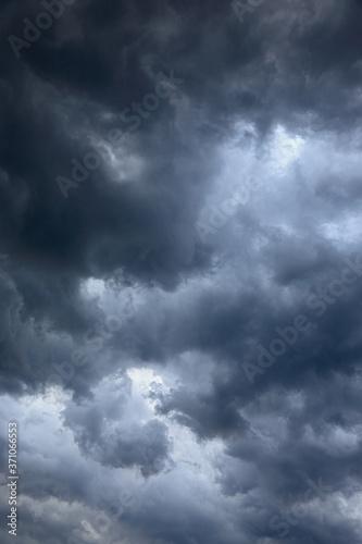 vertical cloudy sky texture Fototapet