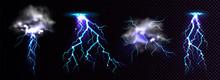 Lightning Strikes And Thunderc...