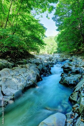Obraz na plátně 福島県中津川渓谷