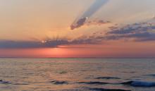 Picturesque Colorful Sunrise O...
