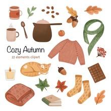 Big Autumn Set, Cozy Home Mood...