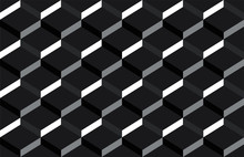 Black And White Cubes Backgrou...