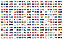 All National Flags Of The World With Names