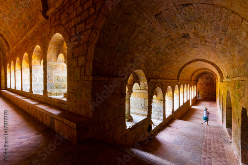 Photo Le Thoronet Abbey, L'Abbaye du Thoronet, Var Department, Cistercian Architecture