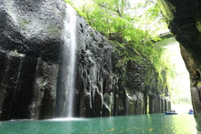 高千穂峡の真名井の滝
