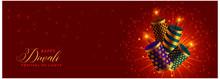 Beautiful Happy Diwali Cracker...