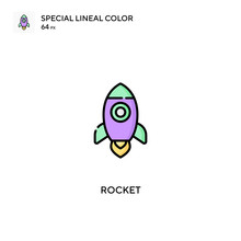 Rocket Simple Vector Icon. Rocket Icons For Your Business Project