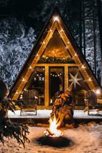 Atmospheric Winter House