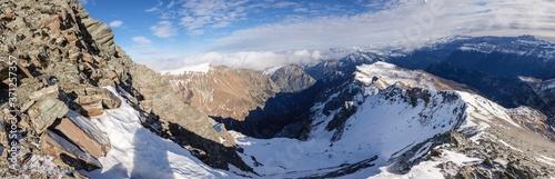 Fotografía ascenso al pico Robiñera, Huesca, Aragón, cordillera de los Pirineos, Spain