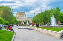 The Park In Yerevan Center, Ar...