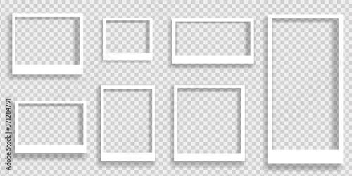Fotografía Realistic polaroid photo frames