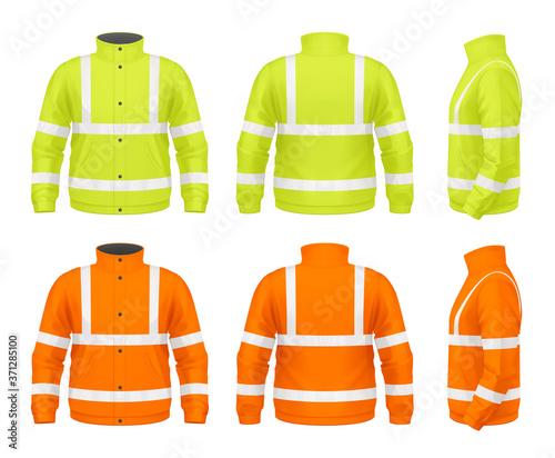 Safety jacket Canvas Print