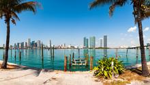 Downtown Miami Skyline View Fr...