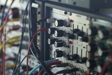 Modular System - Synthesizer - Electronic Music - Patch Cables