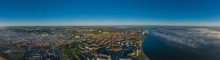 Panoramic Aerial View Of Aalbo...