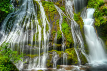 Panther Creek Falls, Washingto...