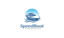 Yatch Logo - Boat Icon Design - Vector Illustration