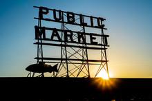 Public Market In Seattle Washington