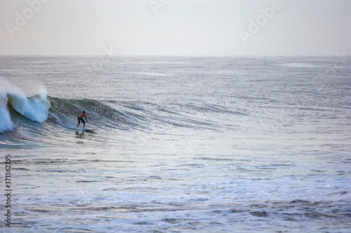 Photo Surfing in the morning at Burleigh Heads