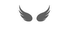 Simple Wing Silhouette For Her...
