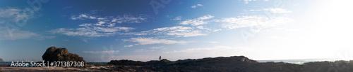 Fotografija Panoramic shot of Australian rocky coasline in sunrise