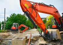 Crawler Excavators With Rotati...