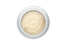 Beauty Cream In Container With...