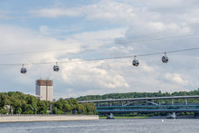 Cable Car Across The Moscow Ri...