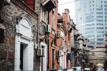 Zhang Yuan Shikumen Old Walled Community And Its Buildings In Shanghai, China