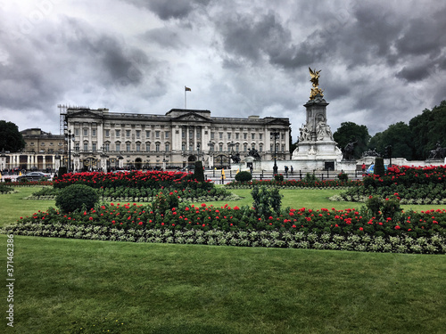 Canvas Print Buckingham Palace in London