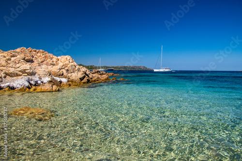 Obraz na plátně îles Lavezzi