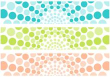 Set Of Vector, Multicolored Ba...