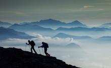 Italy, Piedmont, Alps, Monte R...