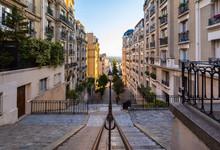 Empty Steps Of Montmartre In P...