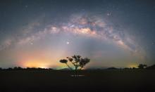 Beautiful Panorama Milky Way O...