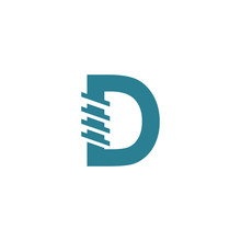 D Logo Vector Templates Industril